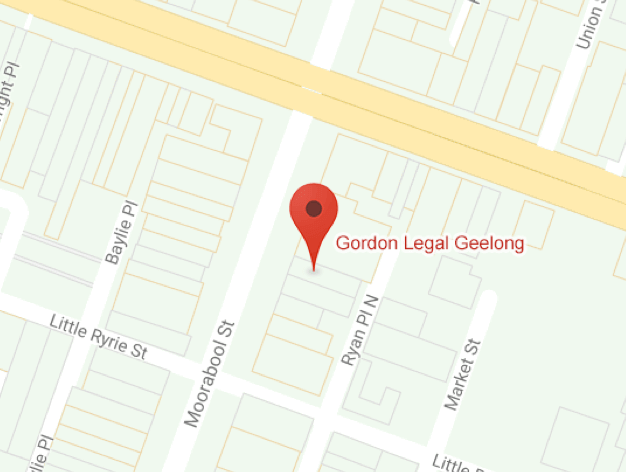 Map of Geelong office location