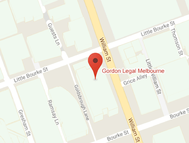 Map of Melbourne office location